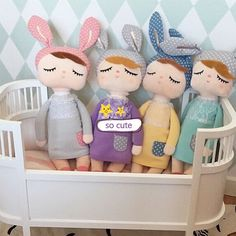 Encontrar Más Conjuntos de Ropa de Cama Información acerca de 2016 precioso muñeca conejo juguetes de peluche para lecho del bebé fijó 35 CM lindo juguetes de regalo para bebé de la muñeca del bebé cuna brinquedo menina, alta calidad linterna de juguete, China juguete del cubo Proveedores, barato muñeca de rompecabezas de Simple Happy Life en Aliexpress.com