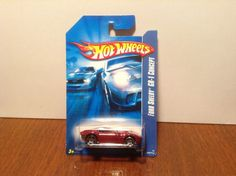 Hot Wheels Ford Shelby GR-1 Concept #206 of 223 2006 Dark Red 50 Cent Comb Ship #HotWheels #Ford