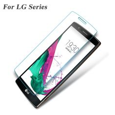 Premium 0.3mm 2.5D Tempered Glass Screen Protector for LG G2 G3 Mini G4 G5 K8 K10 V10 V20 Leon Explosion Proof Protective Film