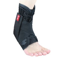 Sports ankle support brace adjustable Anti-sprain Ankle fixed protective gear left leg