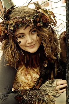 """""""Twig"""" the Renaissance Fairy... makes you want to go to the Fair doesn't it? Carol"""