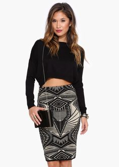 Time Capsule Midi Skirt in Gold | Necessary Clothing. Need the whole thing