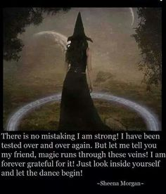 I am strong Magick, Witchcraft, Wiccan Quotes, Smudging Prayer, Which Witch, Run Through, Modern Witch, I Am Strong, Forever Grateful