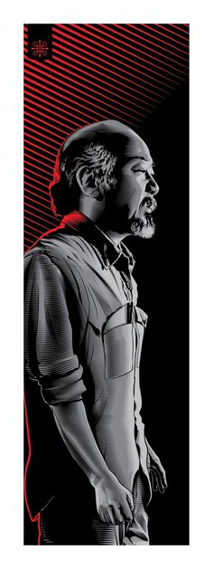 Mr Miyagi Karate Kid by Jeff Boyes