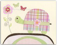 Baby girl room decor Nursery wall art print baby by DesignByMaya, $17.00