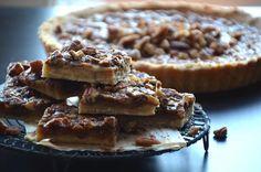 Pecantærte pecan pie Pecan, Desserts, Food, Tailgate Desserts, Deserts, Eten, Postres, Dessert, Meals