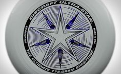 Discraft Ultra-Star 175 Ultimate Frisbee. The official disc of the USA Ultimate Championships series. (photo credit to unknown)