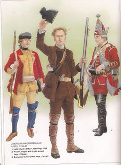 British Infantry of the French & Indian War