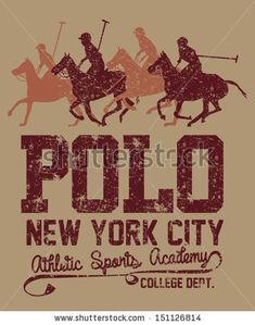 College Polo Player Vector Art - 151126814 : Shutterstock