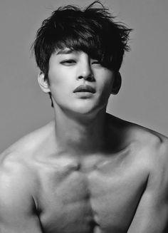 Black+Korean+Singer   popular Black and White b&w myedits Jellyfish korean singer korean ...