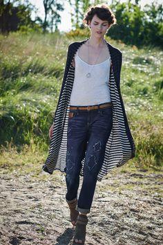 Eclipsed Stripe Cardigan - anthropologie.com #anthrofave #stripes