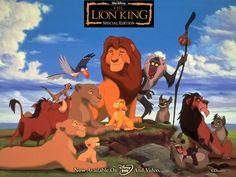 The lion king in any form i absolutely love love love love love!!!!