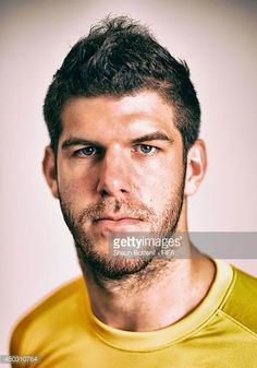 Fraser Forster of England poses during the official FIFA World Cup 2014 portrait session on June 8 2014 in Rio de Janeiro Brazil