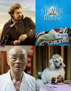 """Four film series, each with a very different focus, will be held on the Outer Cape this winter. Movies include (L-R clockwise): """"Dances with. Shark, Cape, Drama, Baseball Cards, Film, Winter, Movies, Fictional Characters, Mantle"""