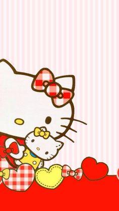 HK with Mini-HK Plushie and Hearts