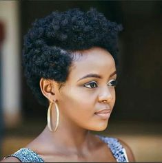Achieve a Fabulous Bantu Knot Out on 4C Tapered Cut Hair Here: http://www.naturalhairmag.com/bantu-knot-out-on-4c-tapered-hair/ IG:@sheilandinda #naturalhairmag