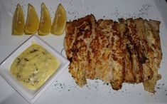 Fish With Creamy Lemon Butter Sauce