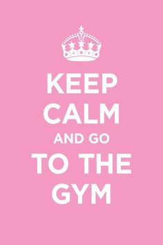 Keep Calm - Fitness Quotes