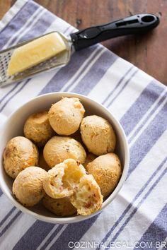 Pão de queijo com calabresa • Cozinha Legal