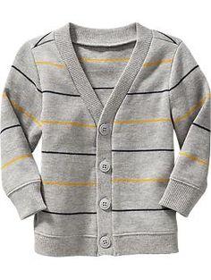 Luke? Textured-Rib V-Neck Cardis for Baby | Old Navy