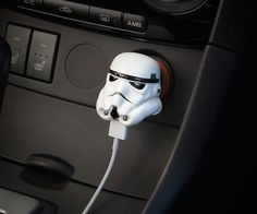 Let the Dark Side power up your gadgets with this Stormtrooper USB Car Charger.