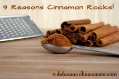 My Love Affair With Saigon (Vietnamese) Cinnamon and 9 Reasons Cinnamon Rocks! Real Food Recipes, Great Recipes, Yummy Recipes, Cinnamon Health Benefits, Sweet And Spicy, Healthy Cooking, Cooking Tips, Health