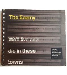 The ENEMY Reworked CD Box note book