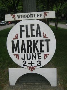 "Save the date! The Woodruff Place Flea Market is June 1st & 2nd! Browse 80 acres of quality junk in downtown Indy, get your ""state fair food"" fix and enjoy entertainment in our historic Victorian neighborhood. This FUNdraiser helps us earn money to restore and maintain our historical prettiness. Like us on Facebook and tweet #wpfm."