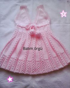 Crochet Baby Girl Summer Doll Clothes Ideas For 2019 Crochet Baby Cardigan, Baby Cardigan Knitting Pattern, Crochet Beanie Pattern, Baby Hats Knitting, Crochet Baby Hats, Lace Knitting, Booties Crochet, Kids Knitting Patterns, Baby Patterns