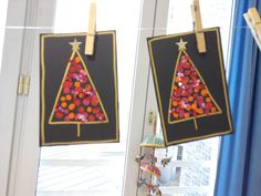 Christmas Tree Cards, Christmas Ad, Christmas Crafts For Kids, Xmas Crafts, Christmas Projects, Christmas Decorations, Holiday, Diy Crafts To Do, Theme Noel