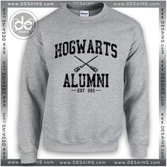 1d5a58144c735f Buy Sweatshirt Hogwarts Alumni Harry Potter Sweater Womens and Sweater Mens