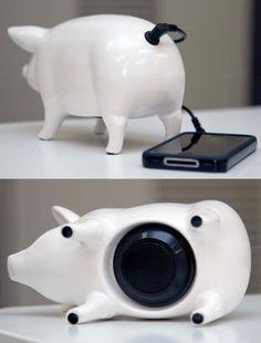 pig speaker for cell phone