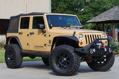 "Trail Ready 2013 ""Dune"" Unlimited Jeep Wrangler ~ Detailed Description...."