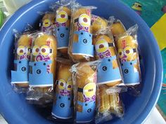 >>>Cheap Sale OFF! >>>Visit>> Book Wine and Time: Despicable Me Minions Birthday Party Minion Birthday, Sons Birthday, Boy Birthday Parties, Birthday Ideas, Despicable Me Party, Minion Party, Minion Twinkies, Cute Snacks, Party Dishes