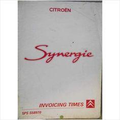 citroen relay invoicing times manual 1996 tps658960 listing in the rh pinterest com Citroen C-Crosser Citroen XM