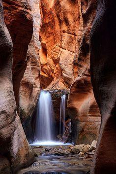 Upper Kanarra Creek Falls, Zion National Park, Utah