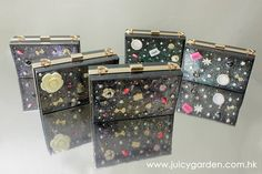 Juicy Garden:::Acrylic Handmade Clear Treasure box:::www.juicygarden.com.hk http://browniies.com