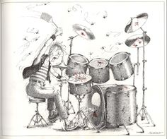 The Humorous Musical Drawings of Claude Serre