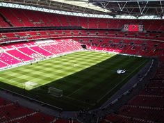Wembley Stadium, London, England