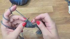 Kurz pletení - Entrelac, pletené čtverce 1. díl, Knitting school Entrelac