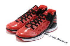cheaper 326e6 4f25b Adidas Adizero Rose 2.0 Derrick Rose Shoes Red Black White