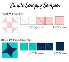 Clover & Violet — Simple Scrappy Sampler {Week 5}