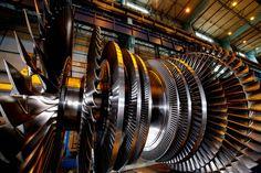 The Largest Industrial Turbine Engine - 2,346,788 horsepower
