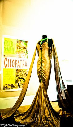 "Claudette Colbert's ""Cleopatra"" costume from the Debbie Reynolds' collection"