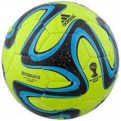 Amazon.com : Adidas Brazuca Glider Soccer Ball Size5 (NEON) : Clothing