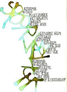 kerstkaart 2011 Els de Bok