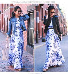 eliza j maxi dress looks