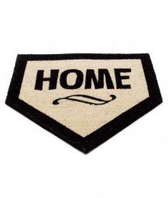 Home, Baseball rug