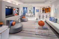 Turnberry Tower Arlington, VA contemporary-living-room