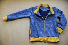 Jak ušít dětskou mikinu na zip - návod (FOREST) - Prošikulky. Knit Crochet, Sewing Patterns, Take That, Knitting, Children, Sweatshirts, Closer, Jackets, Website
